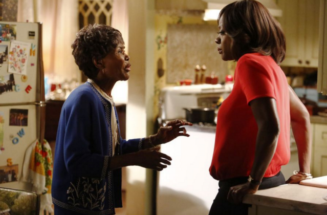 "Cicely Tyson and Viola Davis in the How to Get Away with Murder episode ""Anna Mae"". Photo Credit: ABC/Nicole Wilder"