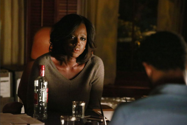 "Viola Davis in the How to Get Away with Murder episode ""There's My Baby."" Photo Credit: ABC/Mitch Haaseth"