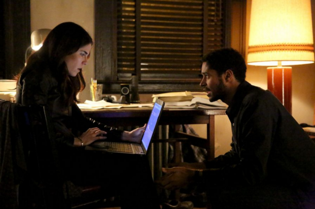 """Karla Souza and Wes Enoch in the How to Get Away with Murder episode """"It's a Trap."""" Photo Credit: ABC/Mitch Haaseth"""