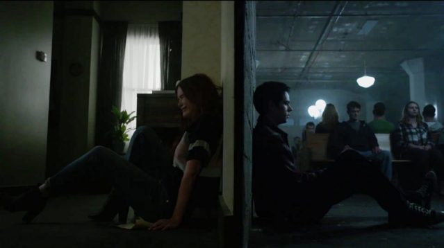 Holland Roden and Dylan O'Brien in Teen Wolf season 6 trailer. Photo Credit: MTV