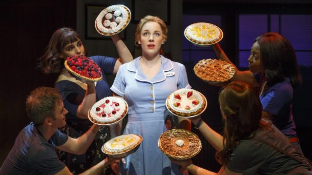 Jessie Mueller and the cast of Waitress. Photo Credit: Waitress Musical