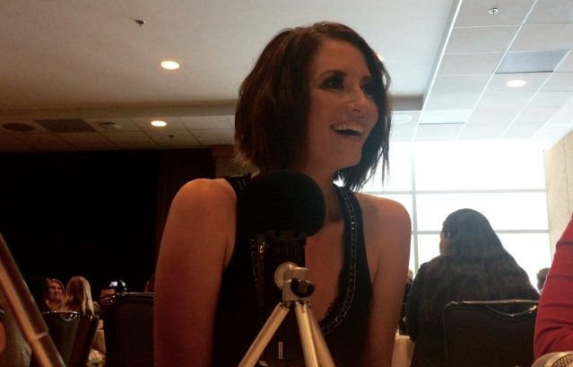 FullSizeRender Chyler Leigh chats about Supergirl at SDCC 2016. Photo Credit: Nora Dominick